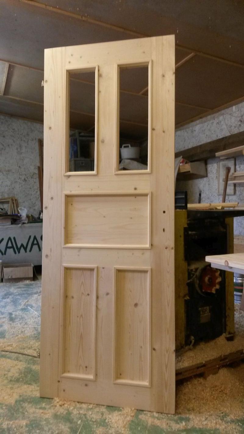 Výroba dveří z masivu1